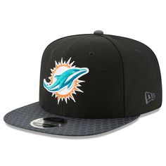 Miami Dolphins New Era 2017 Sideline 9FIFTY Snapback Hat - Black -  35.99 Miami  Dolphins Hat a8dbfc3c3