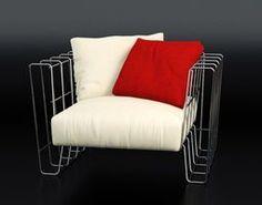3D model Hoop armchair - #chairideas #chair #chairdesign #designideas #chairs