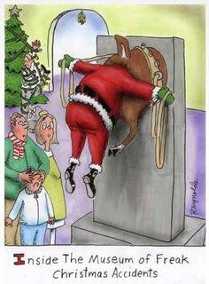 Funny Santa cartoons