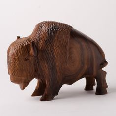Large Ironwood Buffalo