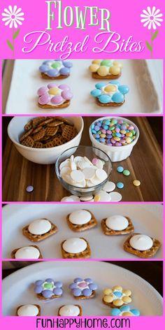 Flower Pretzel Bites Recipe: A Fun & Easy Easter Treat Recipe