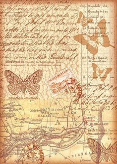"Motiv-Strohseide ""Flying Letters"", DIN A4 - VBS-Hobby.com"