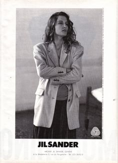Jil Sander Fall 1987