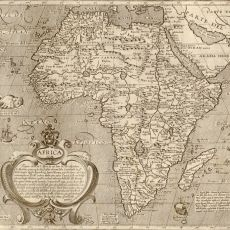 Antique map reproductions of the continent of Africa. A variety of time periods for antique or historical maps of Africa. Antique World Map, Antique Maps, Vintage Nautical, Vintage Maps, World Map Wallpaper, World Map Canvas, Africa Map, Old Maps, Sea Monsters