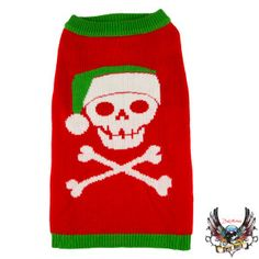 Skull Christmas Sweater  - PetSmart