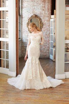 "Isabelle Armstrong Bridal ""Broke"" I take you #weddingdress #weddinggown"