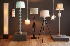 From hanging to floor lamps, we're here to shed some light