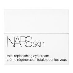 NARS Skin Total Replenishing Eye Cream Jar (€53) ❤ liked on Polyvore featuring beauty products, skincare, eye care, no color, nars cosmetics, dark circle eye treatment and paraben free skin care