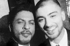 Shah Rukh Khan thinks Zayn Malik is 'so cool'