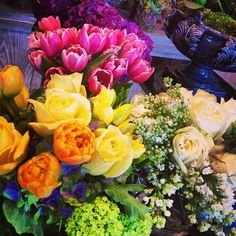 Avant Garden spring bouquet - perfect for Mother's Day #flowers #mothersday #gifts