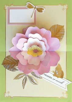 Perfect Floral Pop Up Card Kit - 20 cards - autoship Birthday Sentiments, Card Sentiments, Pop Up Flowers, Card Making Kits, Anna Griffin Cards, Craft Day, Unique Cards, Pop Up Cards, Pretty Cards