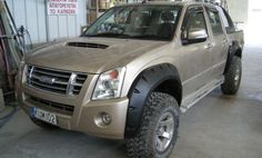 Wide Fender flares wheel arches for ISUZU D-MAX Chevrolet Holden Rodeo GMC Canyon   Trimco Mouldings