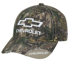 Officially Licensed Camo/White Chevrolet® Hat