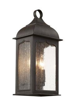 Trans Globe 2 Light Pocket Lantern with Rubbed Oil Bronze Finish - 40230 ROB