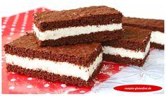 Kleine Kakaoschnitten mit cremiger Füllung! glutenfrei, weizenfrei, laktosefrei Für den Teig: 3 Eier 75g Zucker 30g Kakao 30g Vollkornreismehl 40g glutenfreies Mehl (ich verwende Mix C von Schär) ¼ TL Backpulver Für die Creme: 150ml Sahne (ggf. laktosefrei) 200g Frischkäse (ggf. laktosefrei) 3 EL Honig 3 Blatt Gelatine Den Teig herstellen. Eier und Zucker mit …