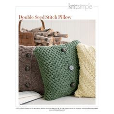 Tricot pillows