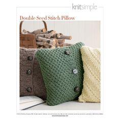 Tricot pillows