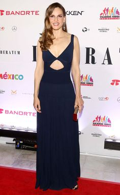 Hillary Swank attends the Liberatum Cultural Honour Awards and Gala Dinner in Mexico City. #bestdressed