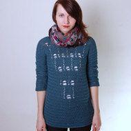 Crochet Pattern PDF London Cardigan sizes XS by ElevenHandmade