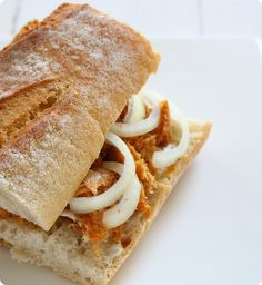 veganes Thunfisch-Sandwich | The Vegetarian Diaries