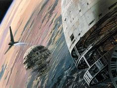 Original High resolution Star Wars concept art by Ralph McQuarrie