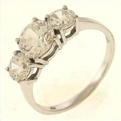 3 Gram 14kt White Gold Ring With Colorless Stones  http://www.propertyroom.com/l/3-gram-14kt-white-gold-ring-with-colorless-stones/9471805