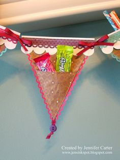 Candy banner...fun for a party!