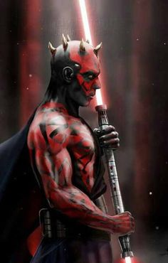 scificity:  Darth Maul by AndyFairhursthttp://scificity.tumblr.com