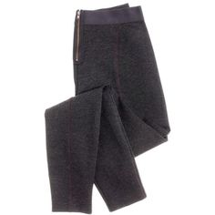 J.Crew Pixie pant (750 GTQ) ❤ liked on Polyvore featuring pants, leggings, bottoms, jeans, stretch ponte pants, j.crew leggings, stretch leggings, pixie pants and ponte knit leggings