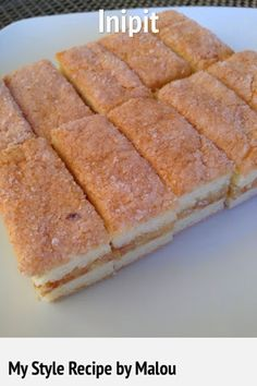 """Inipit translated to Englishmeans """"pressed"""", is a flat sandwich pastry that originated from Malolos, Bulacan. Inipit is two slices ..."""