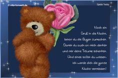 Ein gute Nacht Gedicht
