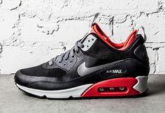 Nike Air Max 90 SneakerBoot - Light Crimson Via: Tenisufki.eu