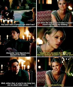 #TheOriginals #3x15 - There's no witchcraft on this planet that I haven't studied, but we both know you're well aware of that.