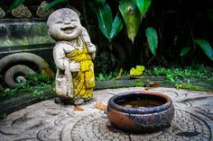 Wat Palad, Chiang Mai, Thailand. Baby Buddha is very happy!