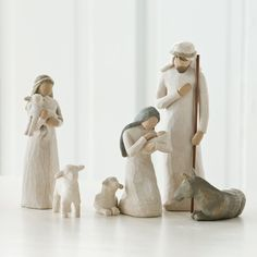 Willow Tree Nativity Scene 8 Piece Basic Set Christmas Nativity Set Holidays New | eBay
