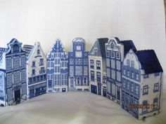Delft canal houses- I have loved these for forever1