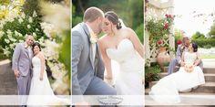 #wedding #weddingparty #bridesmaids #groomsmen #groom #bride #nature #creative #colorful #bouquets #dress #botanicalgarden #wisconsin #photography #love #pose #flowers