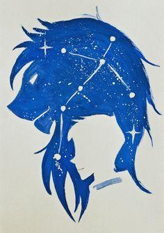 Znalezione obrazy dla zapytania minimalistic blue paladin