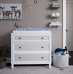 Shop Harmony Changing Table, Oh Deer Canvas Wall Art, Latticework Floating Shelf, Mod Metal Mobile and more