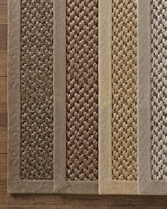 Custom Belgian Sisal Double Weave Rug. A 12' square is roughly $2700