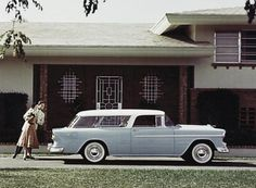 The 1955 Chevrolet Bel Air Nomad Station Wagon.