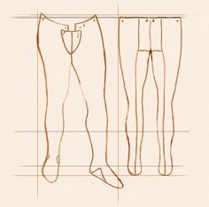 Medieval Clothing and Footwear- Cotton Joined Hose