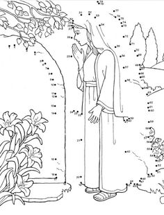 71 Best Dot To Dot Printables For Sunday School Images Connect The