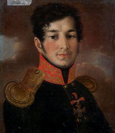 Портрет М. М. Обольянинова. Ф. Маслодуев. 1813 г.