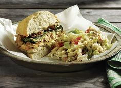 Chicken Herb Sandwiches with Warm Nappa Salad Recipe from #PublixAprons