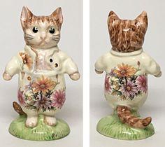 "Chrysanthemum-Royal Albert Beatrix Potter Figurine ""Tom Kitten""  | eBay"