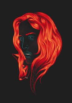 X-Files • Foxy Lady on Behance