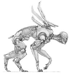 Strogg pursuer by Monopteryx