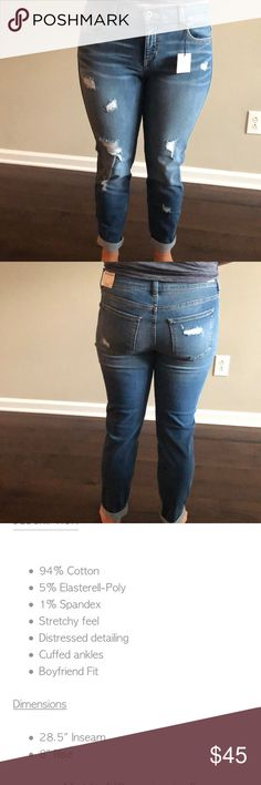 Carly Jean Los Angeles Boyfriend Jeans Brand new Carly Jean Los Angeles boyfriend jeans! Super comfy just wrong size for me. Carly Jean Los Angeles Pants Straight Leg