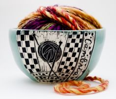 Yarn Bowl by Patricia Griffin